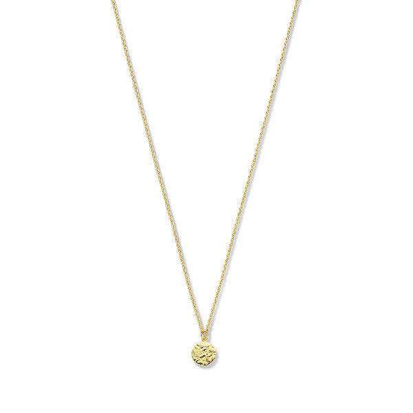 Violet Hamden Luna 925 sterling sølv guldfarvet halskæde