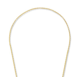Violet Hamden Luna 925 sterling silver gold colored necklace