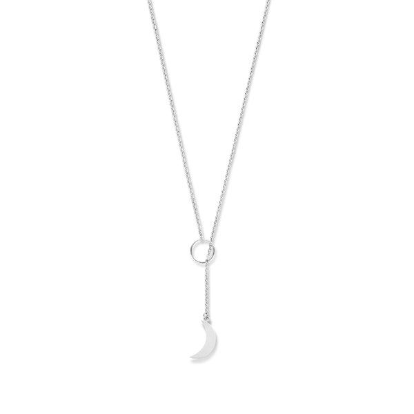 Violet Hamden Collana Luna in argento 925