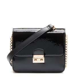 Violet Hamden Evening Star Mini Sac besace Noir Briliant