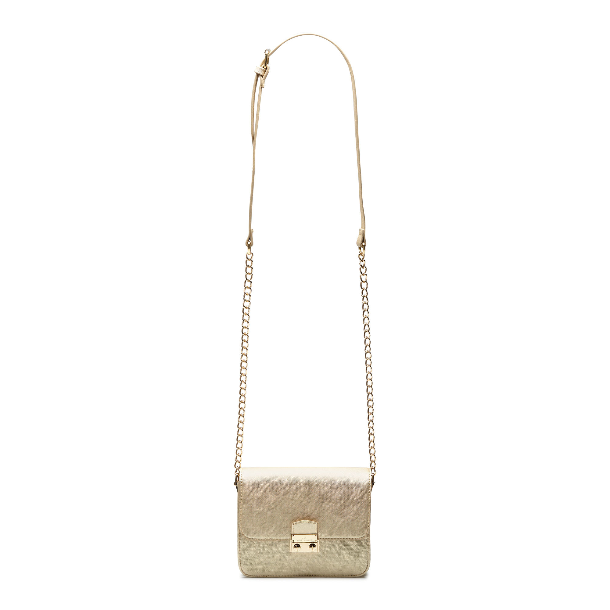 Violet Hamden Evening Star goudkleurige crossbody