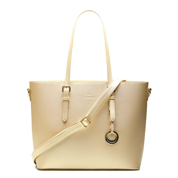 Violet Hamden Evening Star shopper color oro