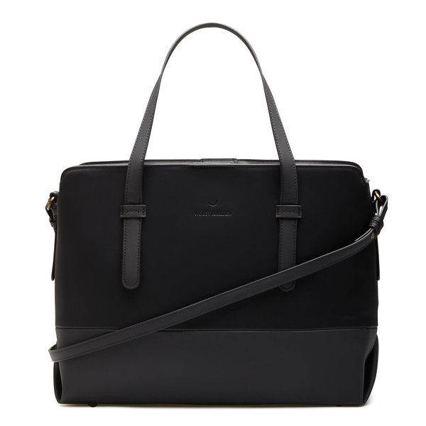 Violet Hamden Essential Bag cabas noir