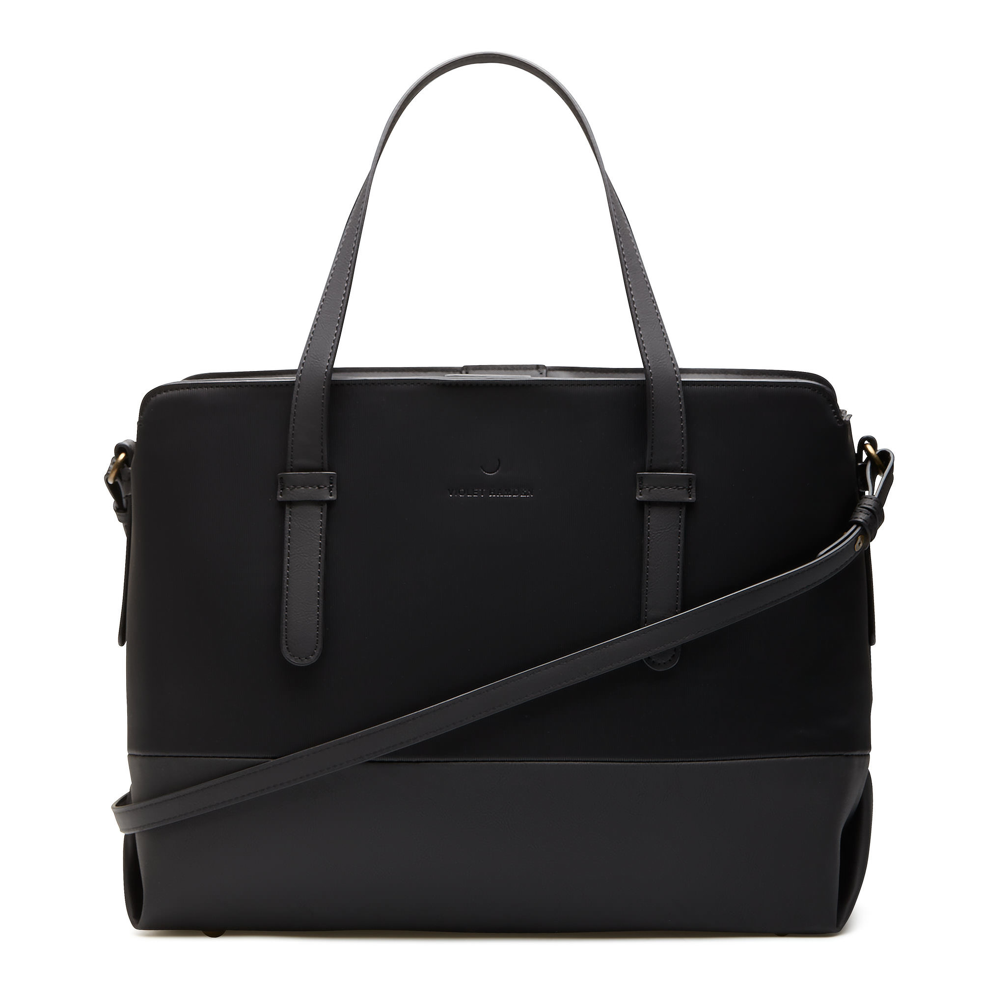 Violet Hamden Essential Bag black shopper