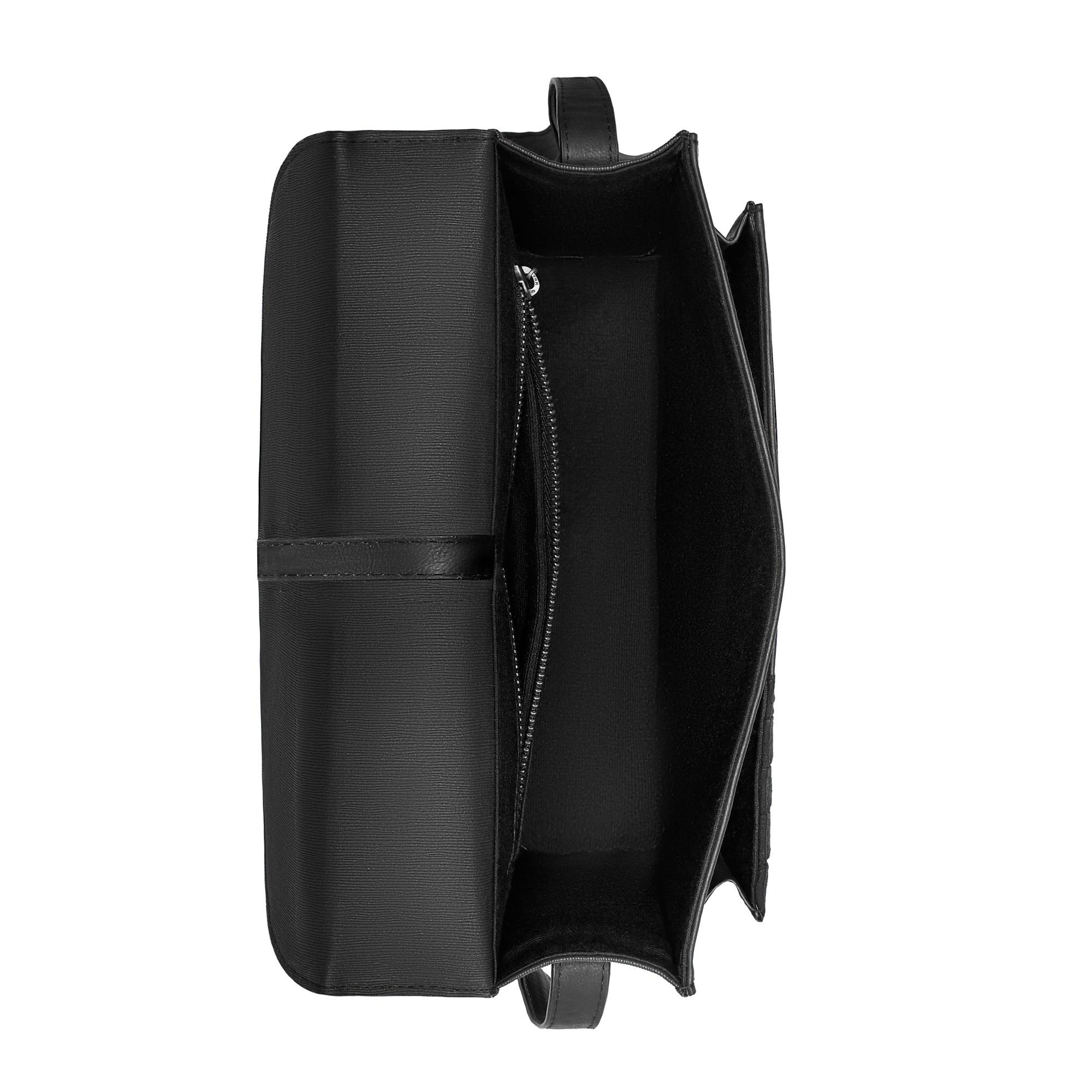 Violet Hamden Essential Bag schwarzer Umhängetasche