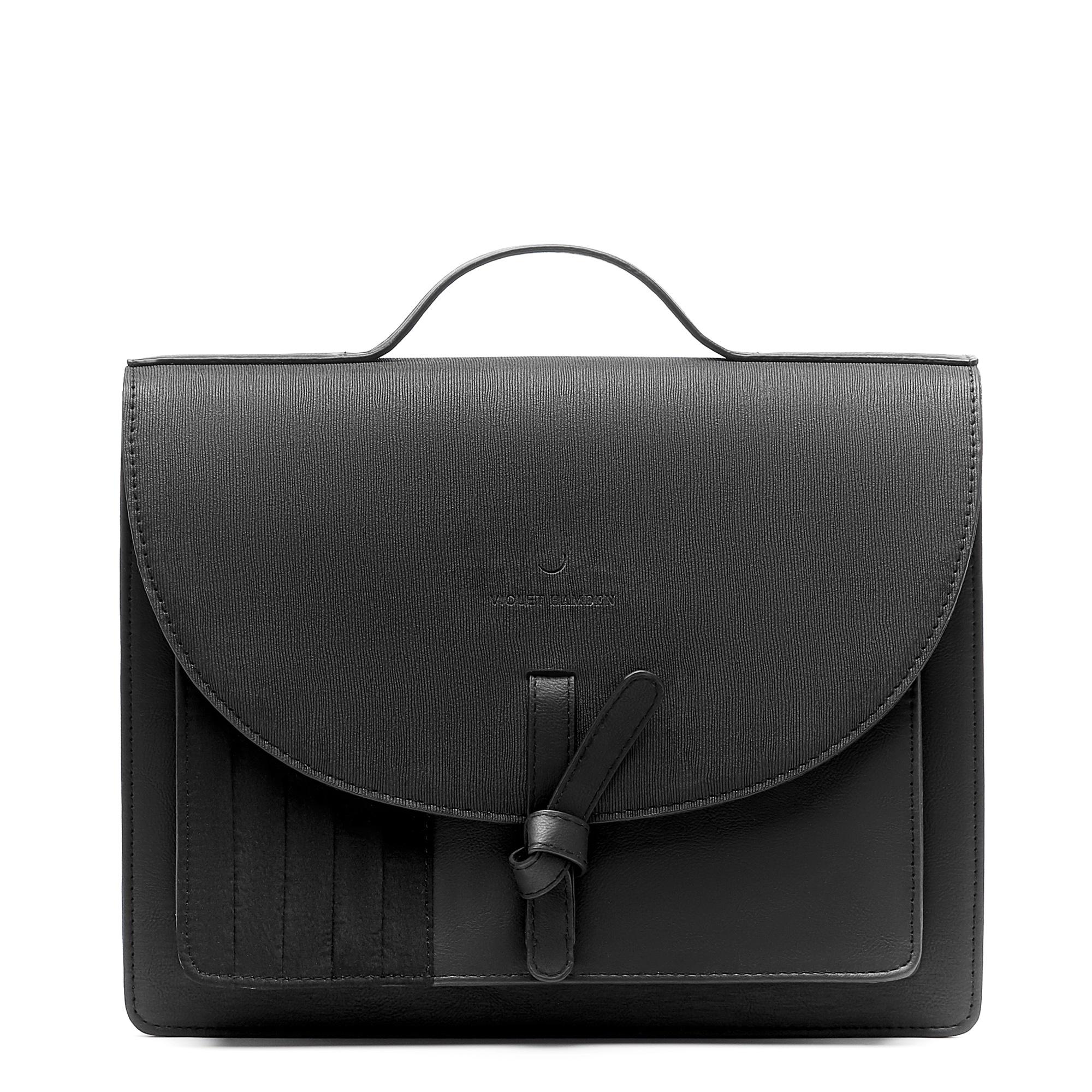 Violet Hamden Essential Bag black crossbody bag