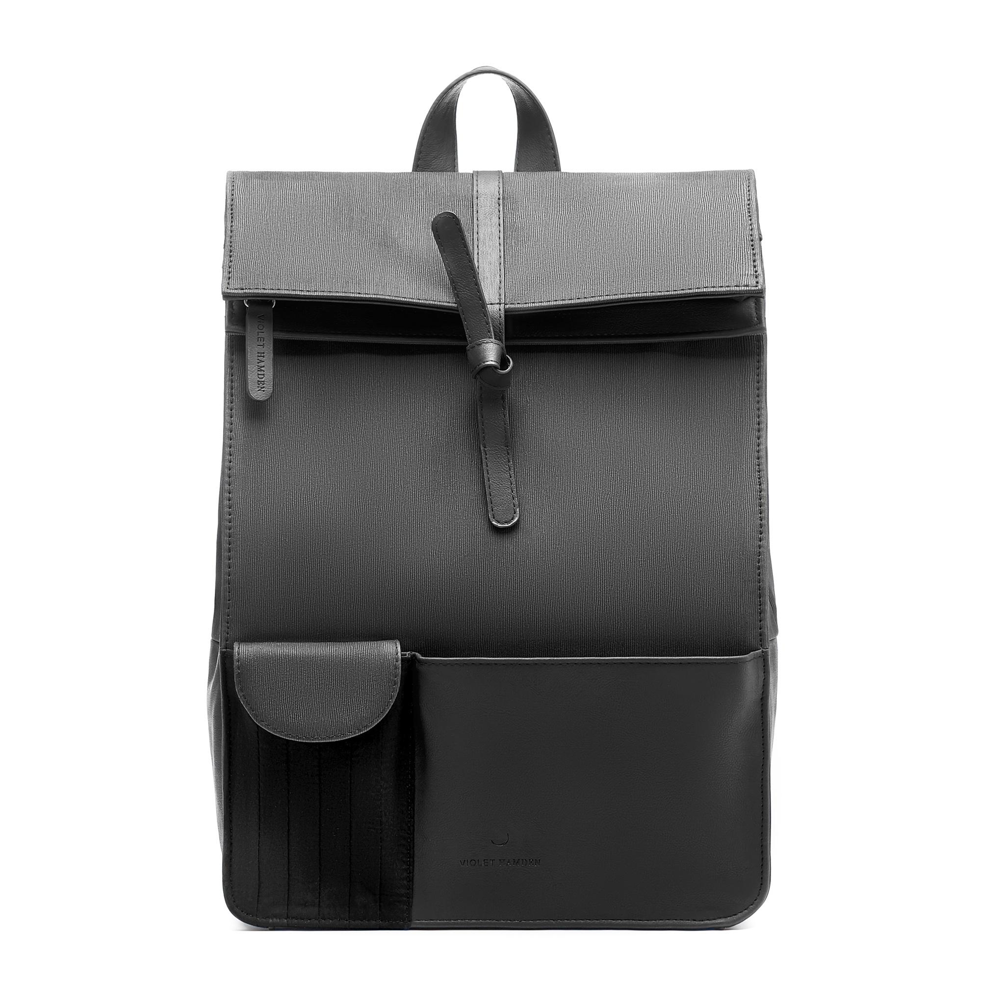 Violet Hamden Essential Bag svart ryggsäck