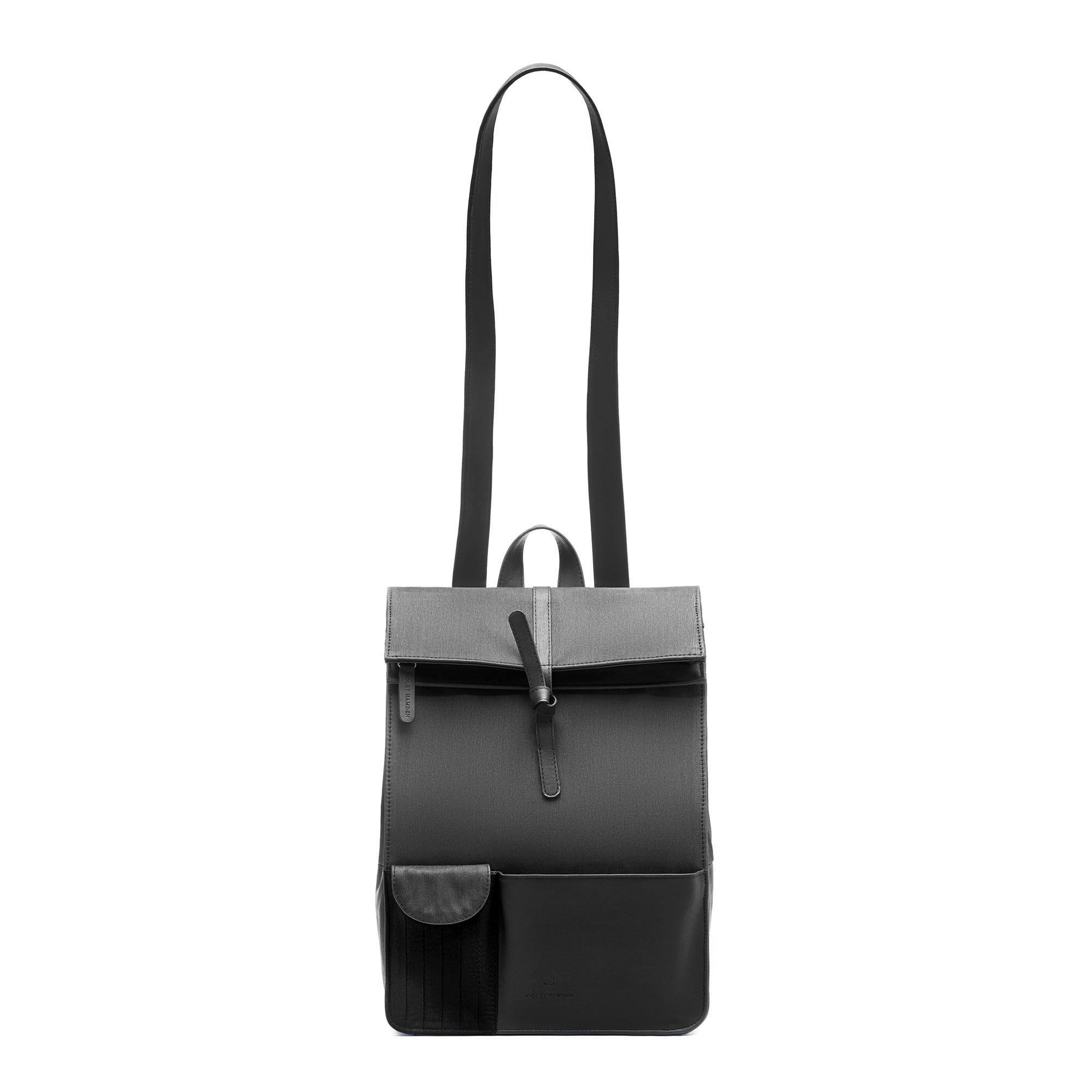 Violet Hamden The Essential Bag Zaino nero intenso