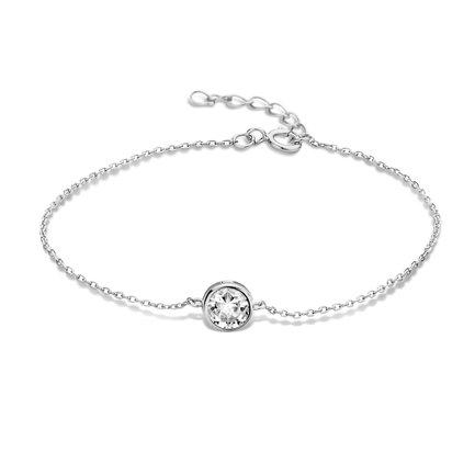 Violet Hamden Venus 925 sterling silver bracelet with birthstone