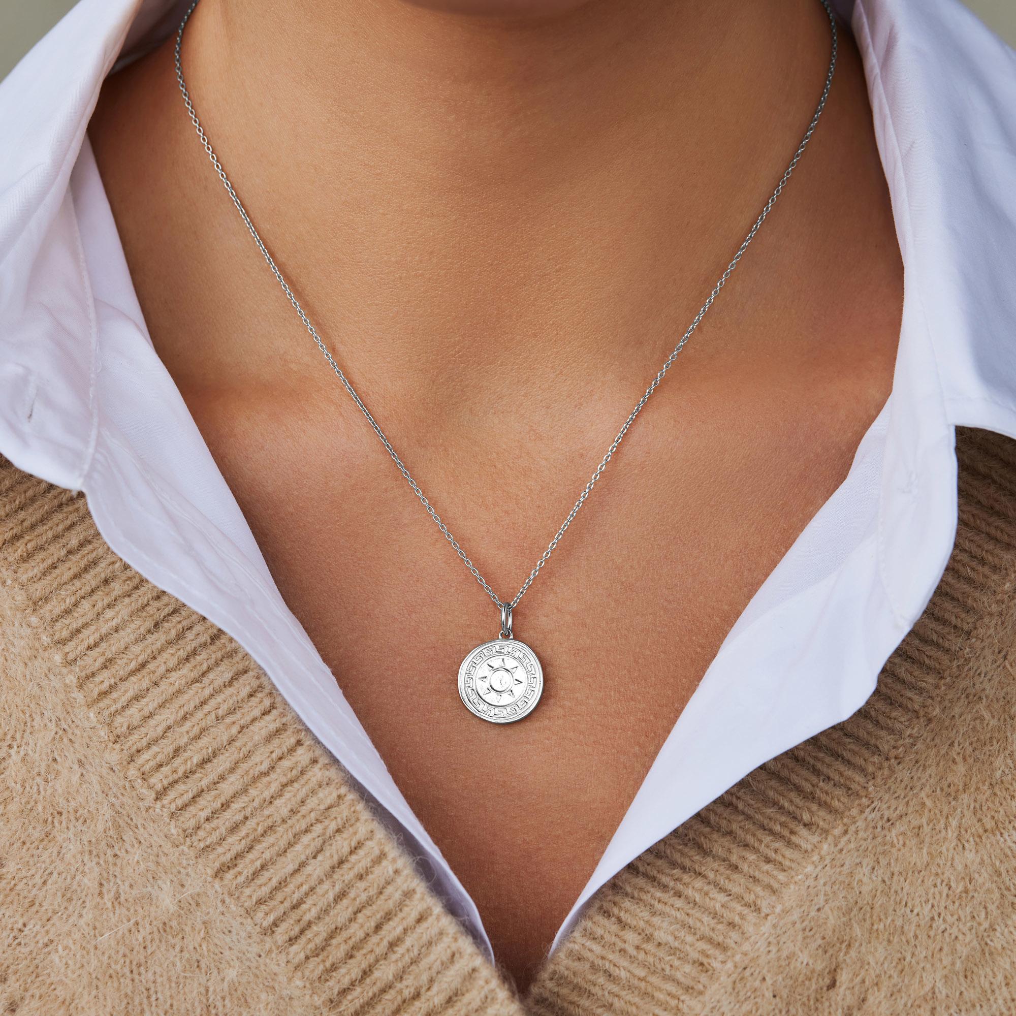 Violet Hamden Athens halsband i 925 sterling silver