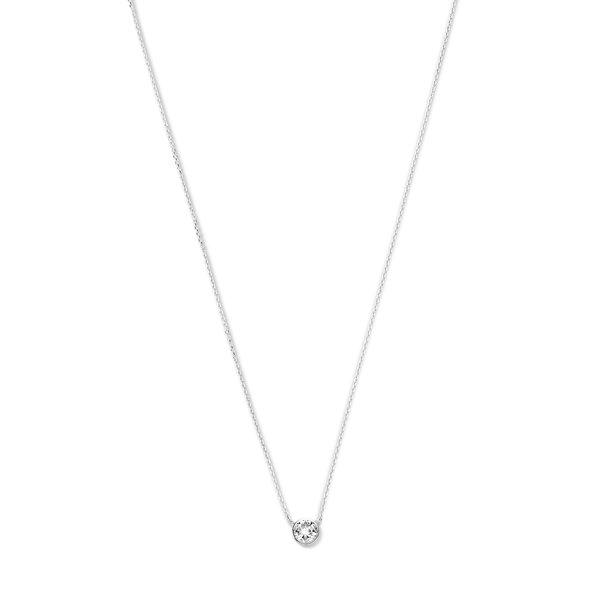Violet Hamden Venus halsband i 925 sterling silver med födelsesten