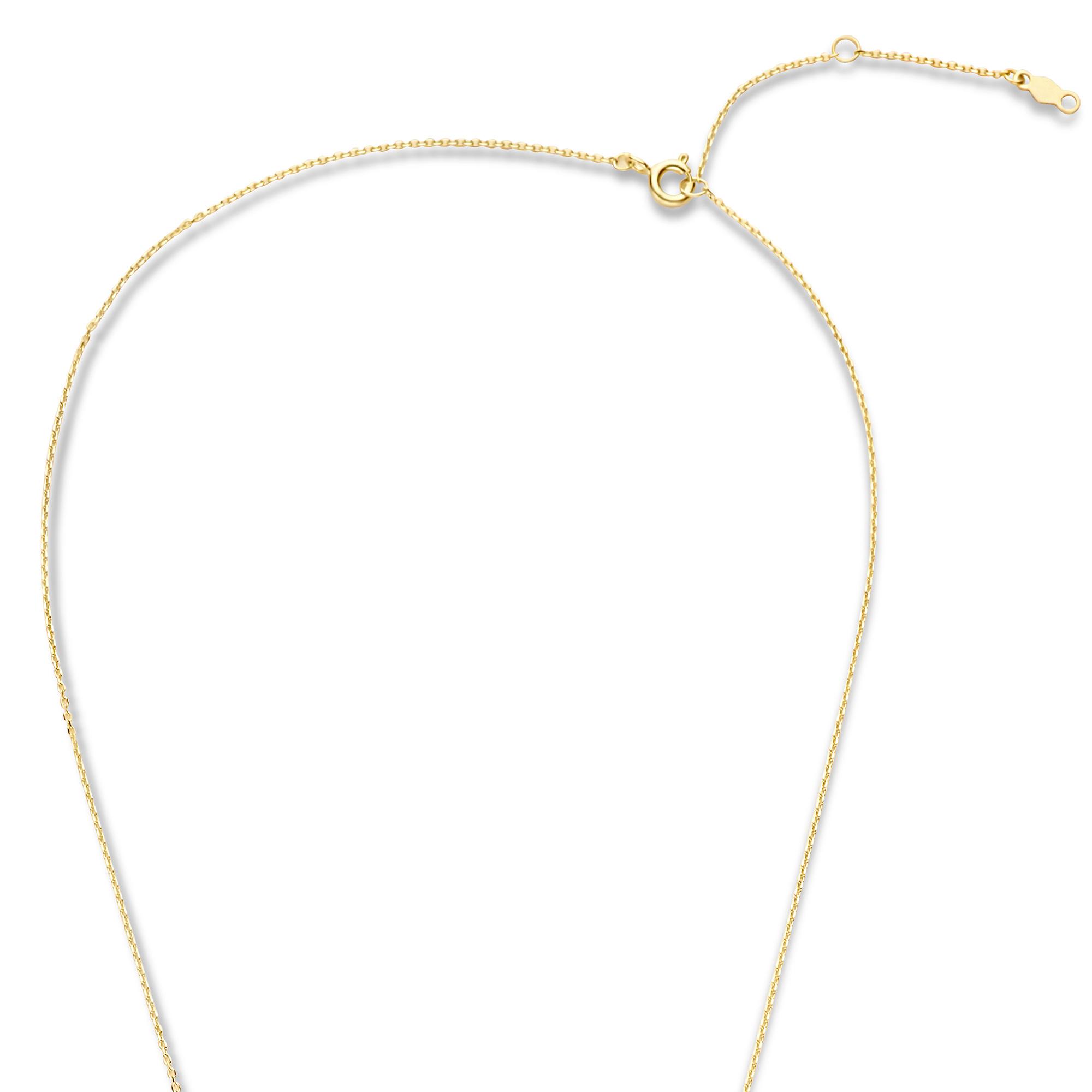 Violet Hamden Venus collier couleur or en argent sterling 925 avec pierre de naissance