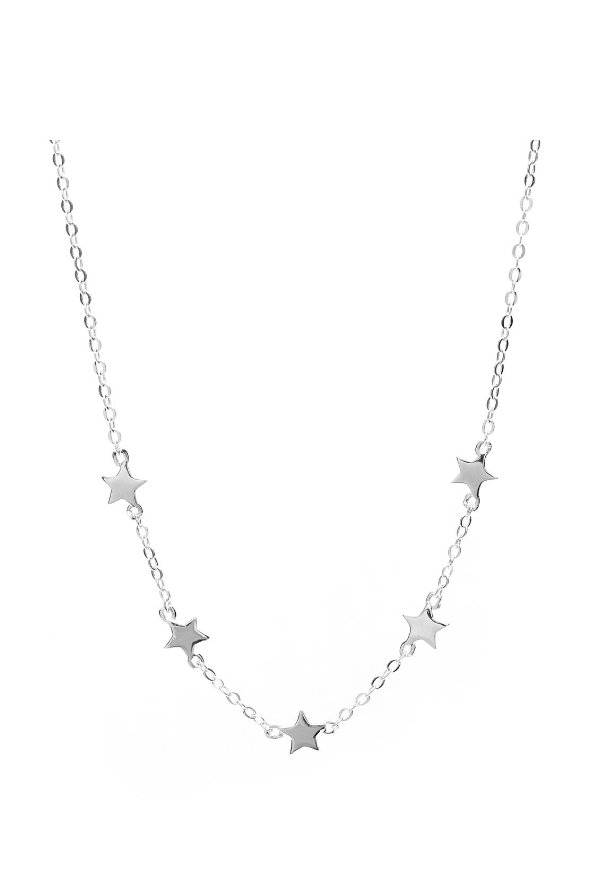 Free silver necklace worth  €59,95