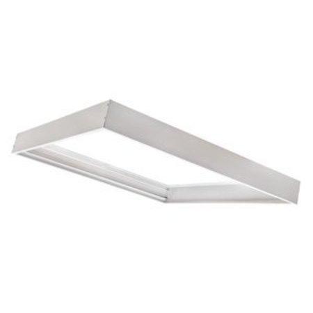 LS-Led [30x30] Ramme til LED panel 5 cm høj montering under loft (Aluminium)