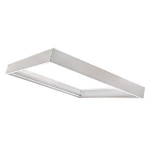 PURPL [30x30] Ramme til LED panel 5 cm høj montering under loft (Aluminium)