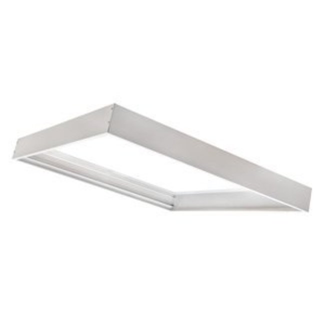 PURPL [30x30] Ramme til LED panel 5 cm høj montering under loft (Aluminium)