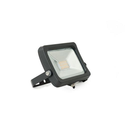 PURPL LED Projektør Sort 10W 6000k Kold Hvid