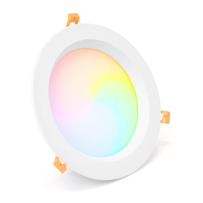 Mi-Light MILIGHT LED Downlight RGB+CCT Rund Indbygget 25w Ø230mm