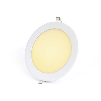PURPL 12W LED Downlight Indbygningspanel Varm Hvid 3000K rund Ø 170mm
