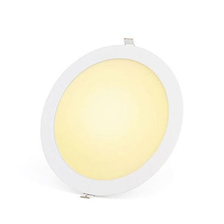 PURPL 18W LED Downlight Indbygningspanel Varm Hvid 3000 rund Ø 225mm