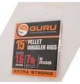 """Guru Guru Ready Rigs 15"""" Pellet Waggler Rig with Bait Band"""