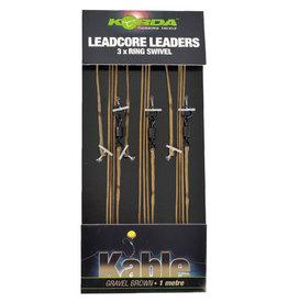Korda Korda Kable Leadcore Ring Swivel 1m Leaders