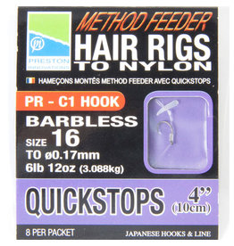 """Preston Preston 4"""" Hair Rig Quickstop"""