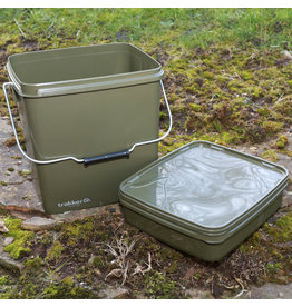 Trakker Trakker 13Ltr Olive Square Bucket with Tray