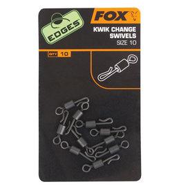 Fox Edges Fox Edges Kwik Change Swivels Size 10