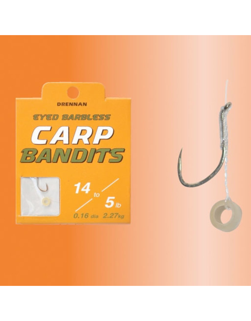 Drennan Drennan Carp Bandit Hooks to Nylon with Pellet Band