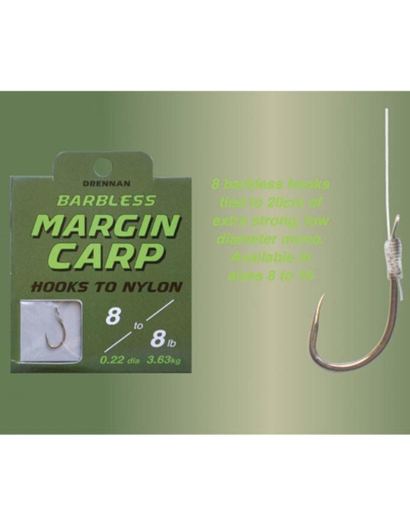 Drennan Drennan Margin Carp Barbless Hooks to Nylon