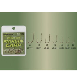 Drennan Drennan Margin Carp Barbless Hooks