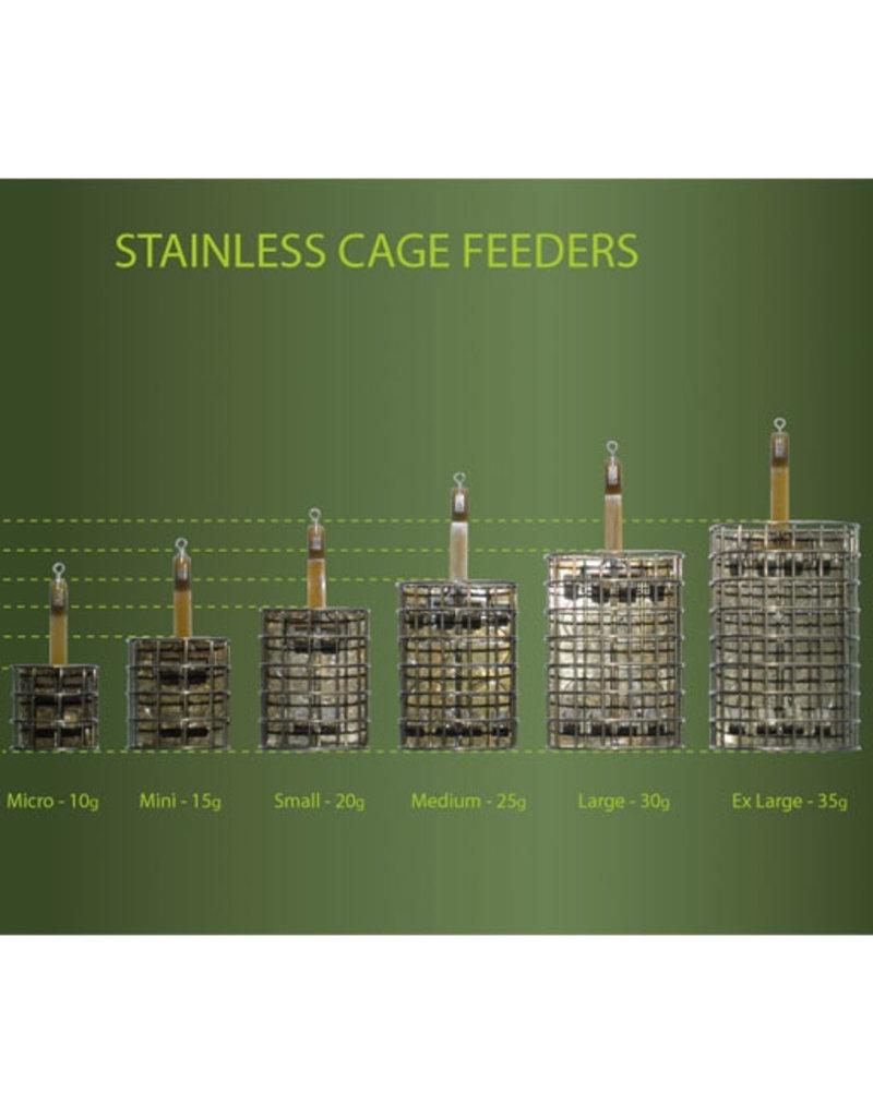 Drennan Drennan Stainless Oval Cage Feeder