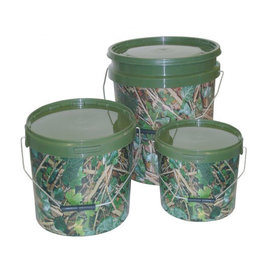 Kent Tackle Kent Tackle Round Camo Bucket