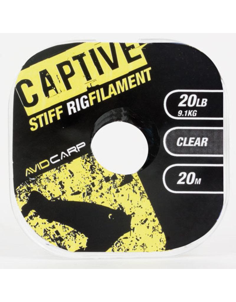 Avid Carp Avid Carp Captive Stiff Rig Filament Clear