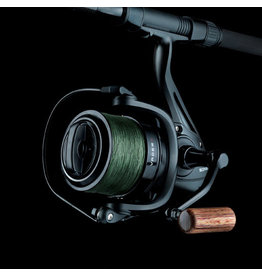 Sonik Sonik Vader X Black Spod Reel with Braid