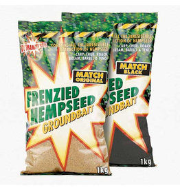 Dynamite Baits Dynamite Baits Frenzied Hempseed Match Black Groundbait 1kg