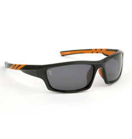 Fox Fox Black & Orange Frame / Grey Lens Sunglasses