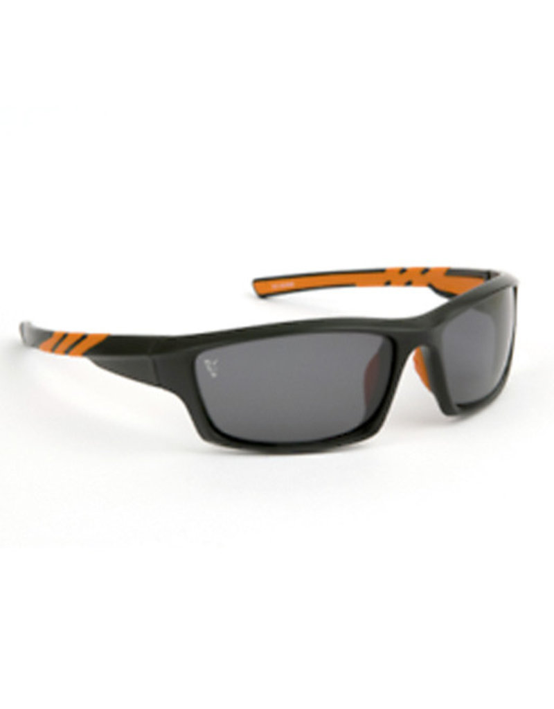 21601d266e7 Fox Fox Black   Orange Frame   Grey Lens Sunglasses - Kent Tackle ...