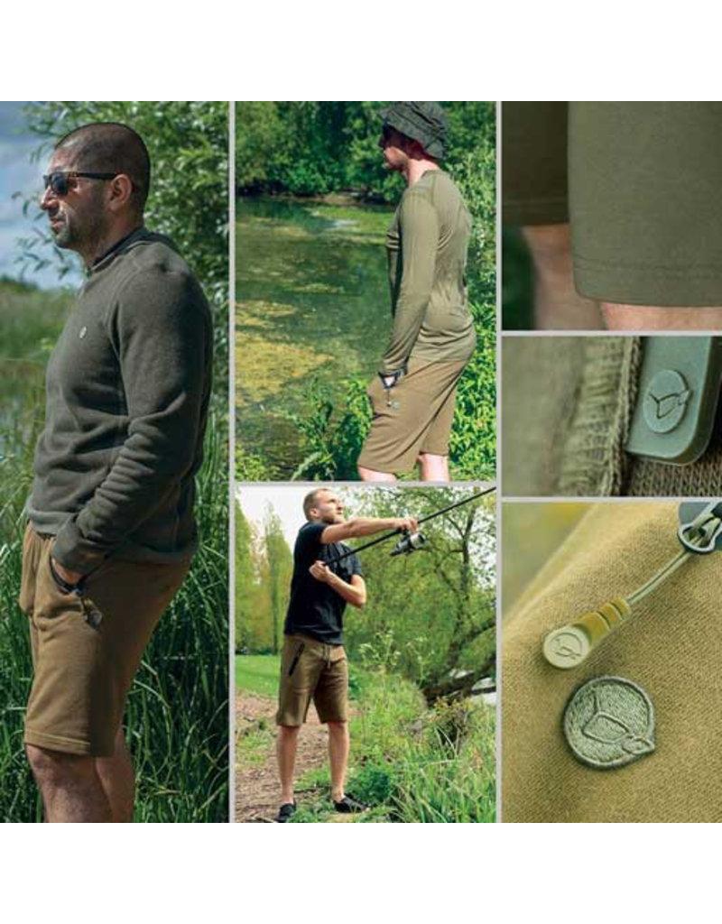 Korda Korda Jersey Shorts Olive