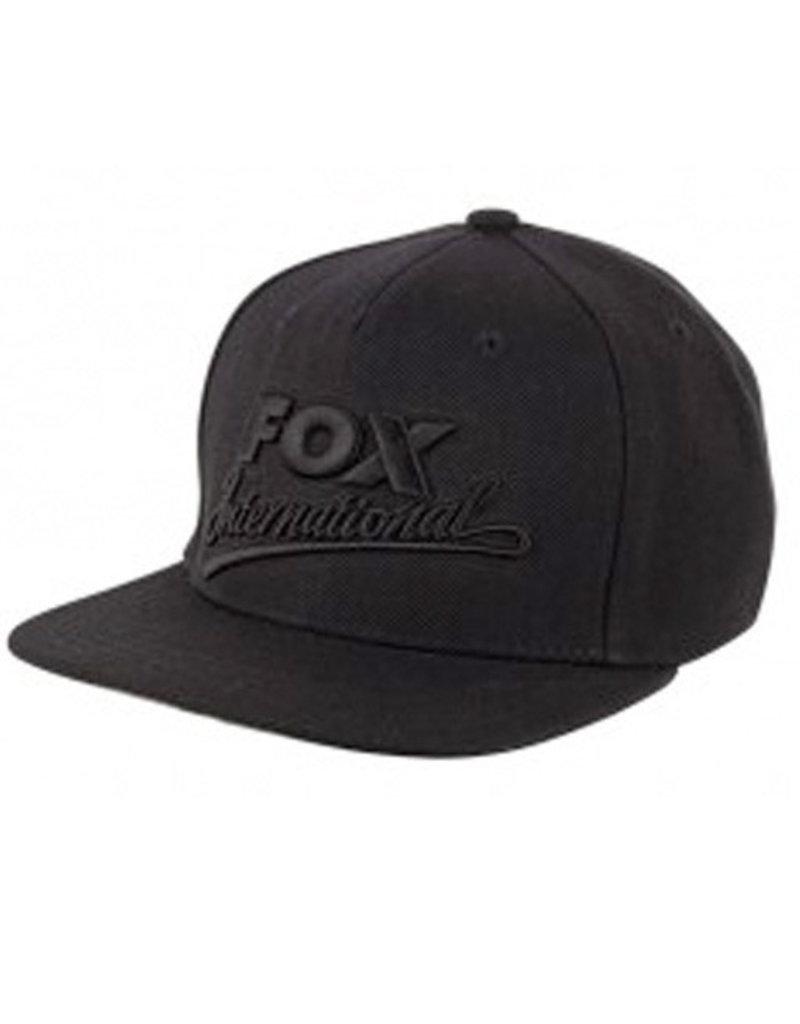 125ee85fb80b8 Fox Fox Chunk Black Snapback Cap - Kent Tackle  Fishing Tackle ...
