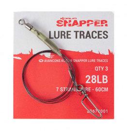 Korum Korum Snapper 28lb Lure Traces 60cm