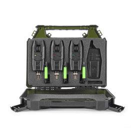 Korum Korum KBI-R 3 Bite Alarm & Reciever Set with Hangers