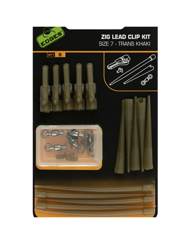Fox Fox Edges Zig Lead Clip Kit