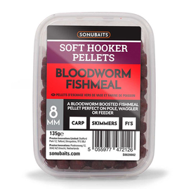 Sonubaits Sonubaits Bloodworm Soft Hooker Pellets
