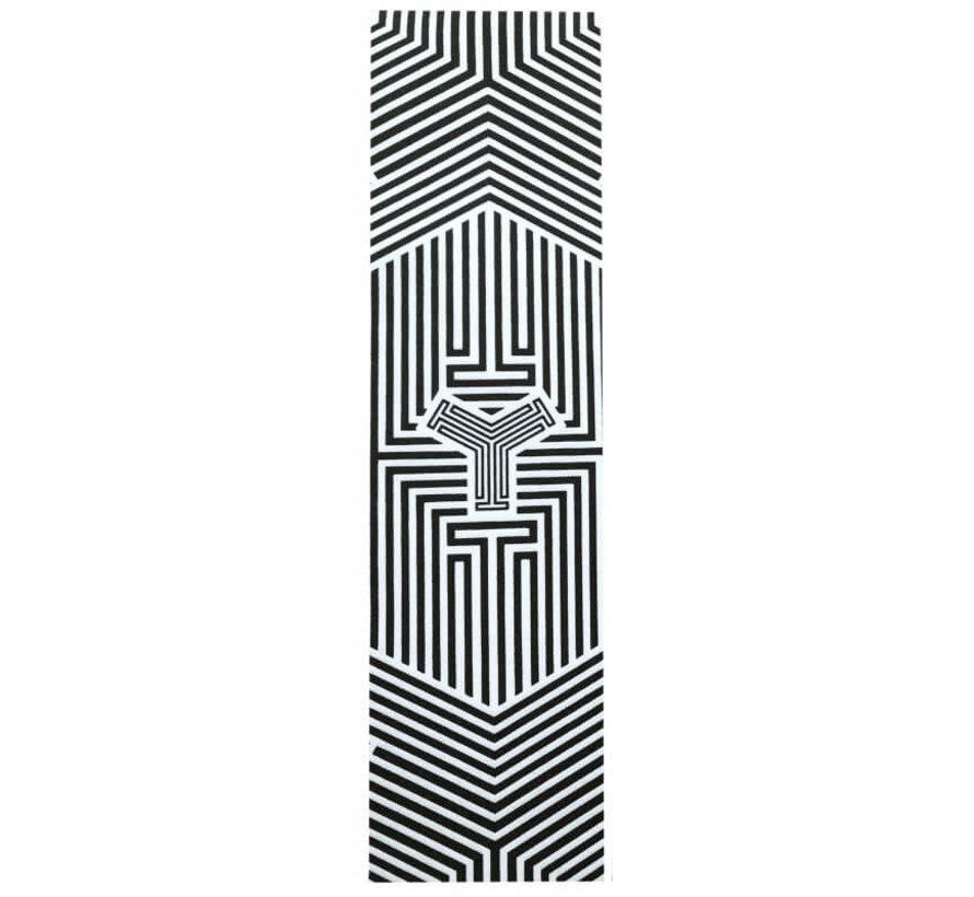 Griptape Clear Cast Logo Black Clear