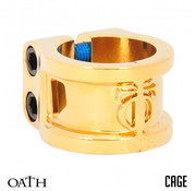 Oath Components Clamp 2 Bolts Cage Neo Gold