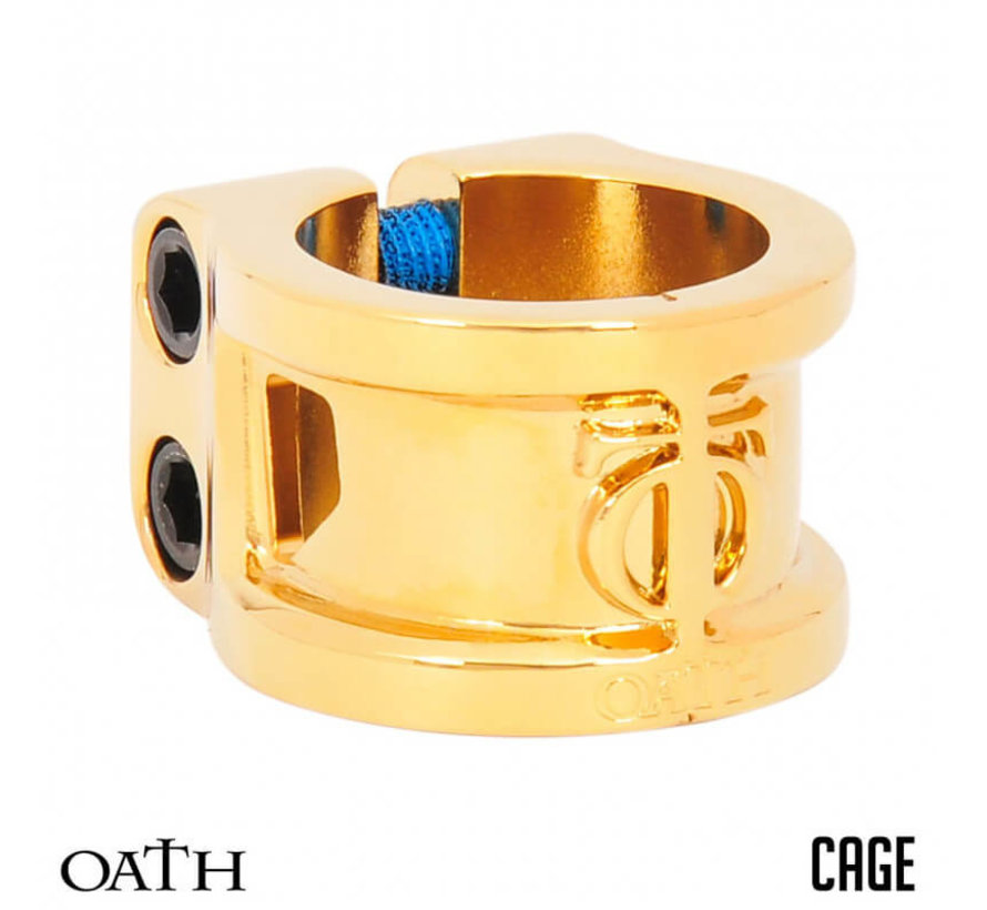 Clamp 2 Bolts Cage Neo Gold