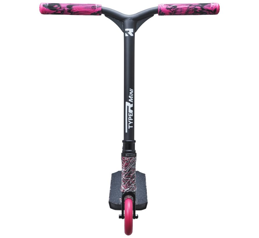 Type R Mini Stuntstep Zwart/Roze