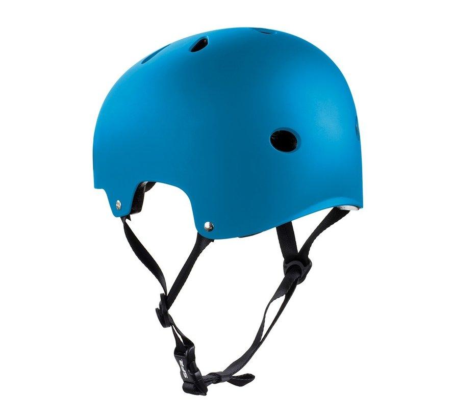 Stuntstep Helm Blauw